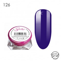 Semilac - UV Gel - Color - Queen of the Night - 126 - 5 ml